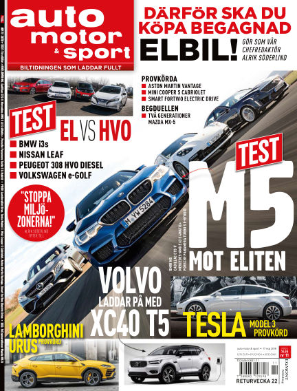 Auto Motor & Sport May 17, 2018 00:00