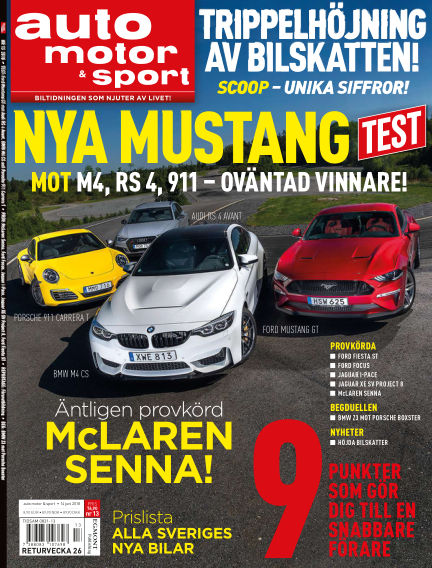 Auto Motor & Sport June 14, 2018 00:00