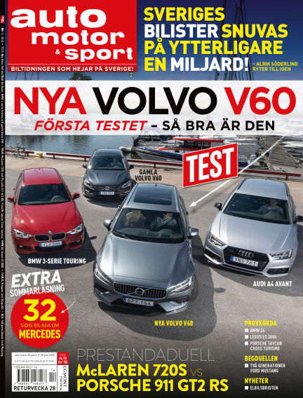 Auto Motor & Sport June 28, 2018 00:00