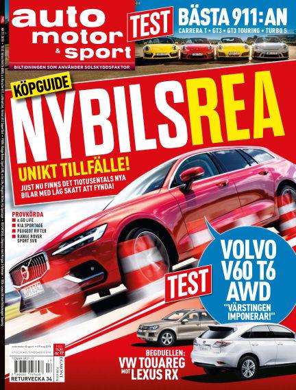 Auto Motor & Sport August 09, 2018 00:00