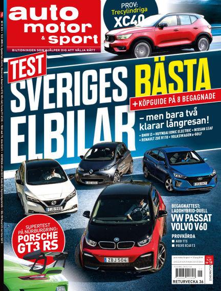 Auto Motor & Sport August 21, 2018 00:00