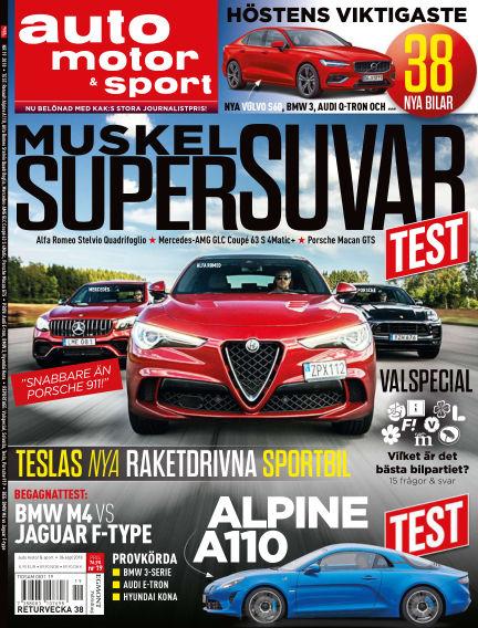 Auto Motor & Sport September 06, 2018 00:00