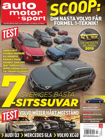 Auto Motor & Sport January 10, 2019 00:00