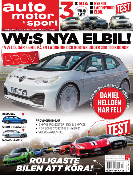 Auto Motor & Sport January 24, 2019 00:00