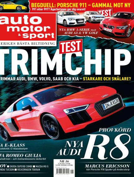 Auto Motor & Sport July 21, 2015 00:00