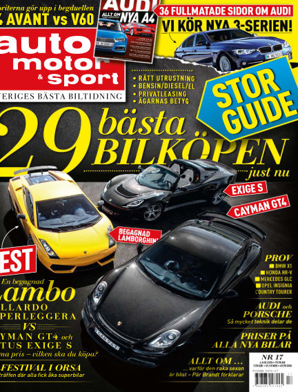 Auto Motor & Sport August 04, 2015 00:00