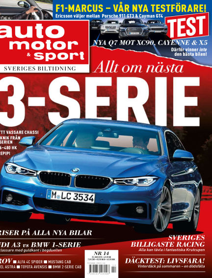 Auto Motor & Sport June 19, 2015 00:00