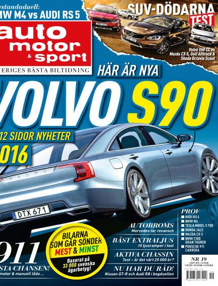 Auto Motor & Sport September 01, 2015 00:00