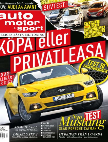Auto Motor & Sport October 27, 2015 00:00