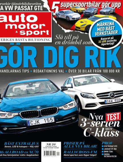 Auto Motor & Sport September 15, 2015 00:00