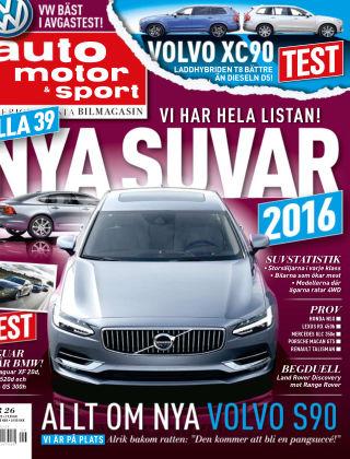 Auto Motor & Sport 2015-12-09