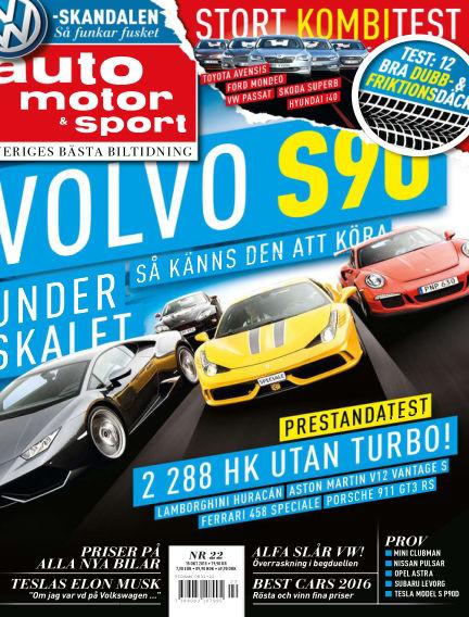 Auto Motor & Sport October 13, 2015 00:00
