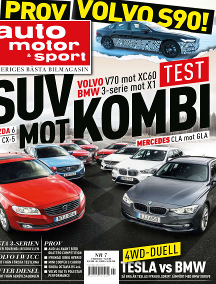 Auto Motor & Sport March 15, 2016 00:00