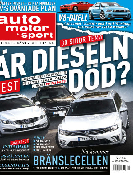 Auto Motor & Sport November 11, 2015 00:00