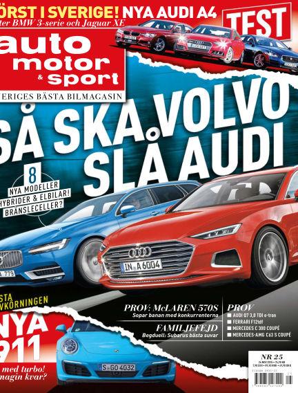 Auto Motor & Sport November 25, 2015 00:00