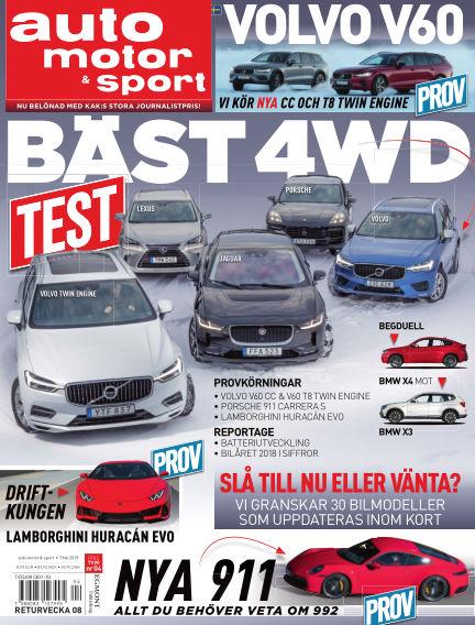 Auto Motor & Sport February 07, 2019 00:00