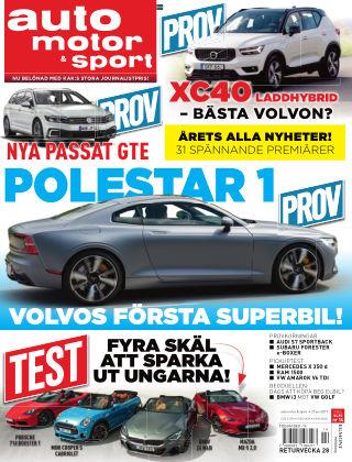 Auto Motor & Sport 2019-06-27