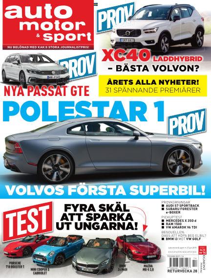 Auto Motor & Sport June 27, 2019 00:00