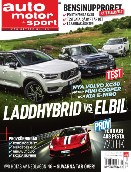 Auto Motor & Sport July 19, 2019 00:00