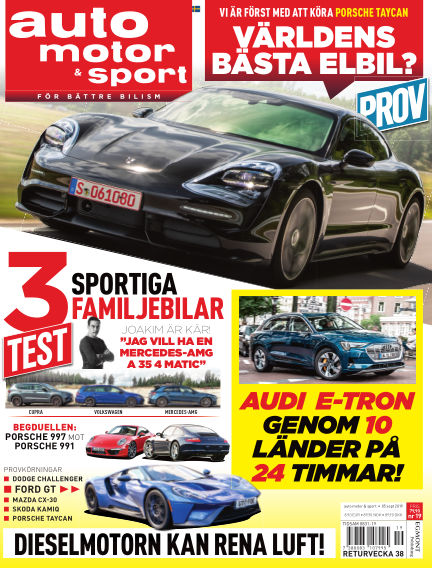 Auto Motor & Sport September 04, 2019 00:00