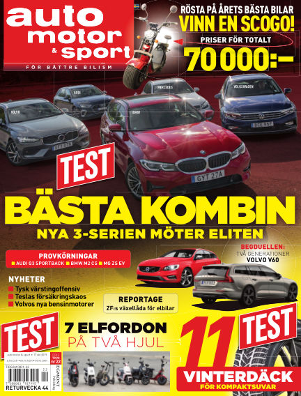 Auto Motor & Sport October 11, 2019 00:00