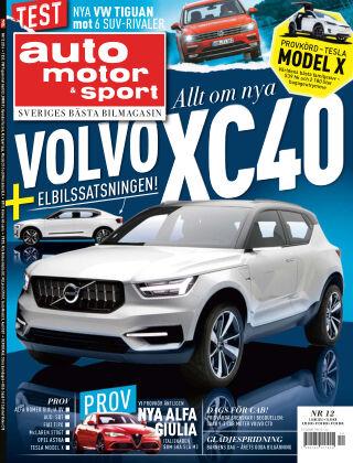 Auto Motor & Sport 2016-05-27