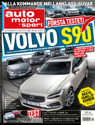 Auto Motor & Sport 2016-07-21