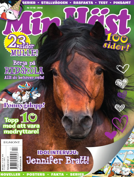 Min Häst July 17, 2018 00:00