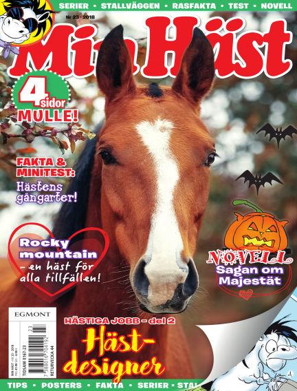 Min Häst October 09, 2018 00:00