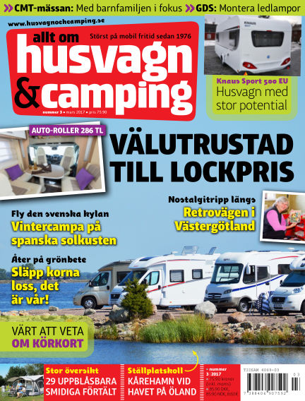 Husvagn & Camping February 21, 2017 00:00