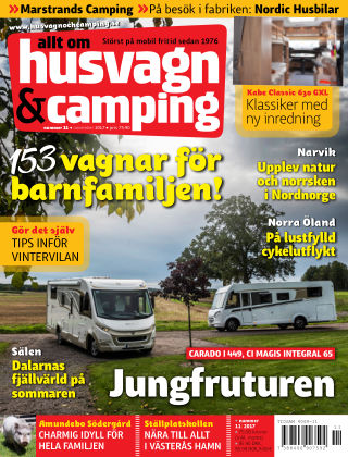 Husvagn & Camping 2017-10-20