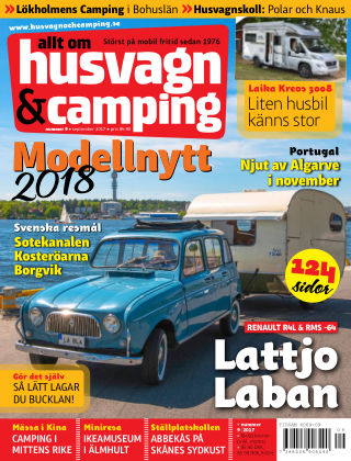 Husvagn & Camping 2017-08-25