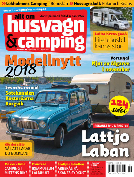 Husvagn & Camping August 25, 2017 00:00
