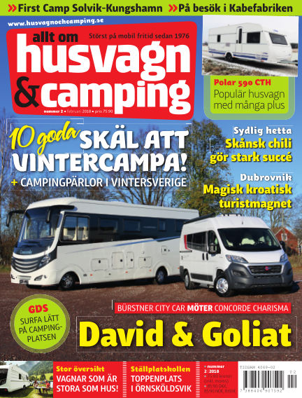 Husvagn & Camping January 23, 2018 00:00