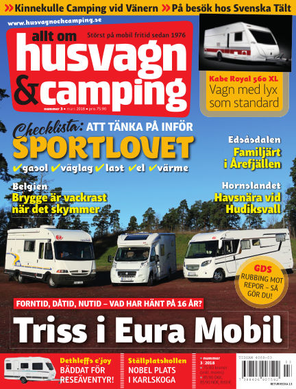 Husvagn & Camping February 20, 2018 00:00