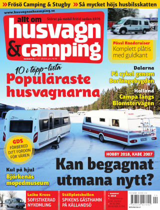 Husvagn & Camping 2018-03-27