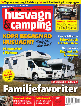 Husvagn & Camping 2018-04-24