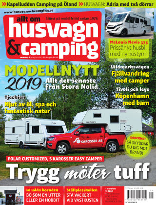 Husvagn & Camping 2018-08-28