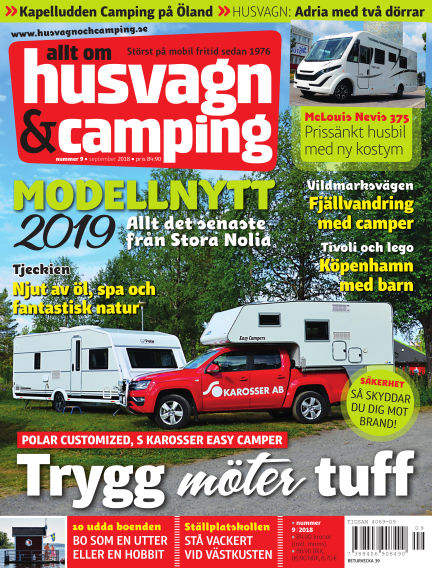 Husvagn & Camping August 28, 2018 00:00