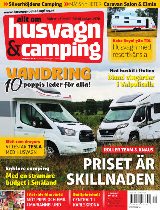 Husvagn & Camping 2018-09-25