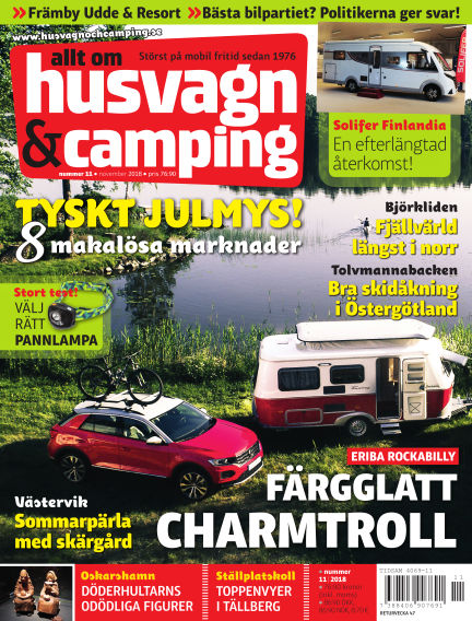 Husvagn & Camping October 23, 2018 00:00