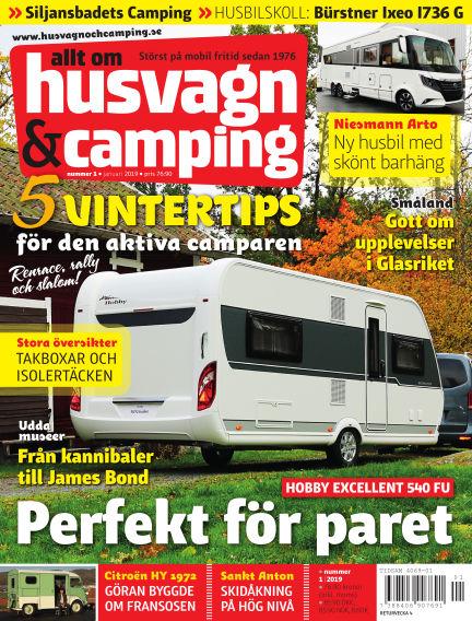 Husvagn & Camping December 20, 2018 00:00