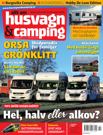 Husvagn & Camping January 22, 2019 00:00