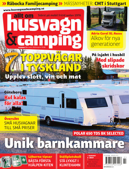 Husvagn & Camping February 19, 2019 00:00