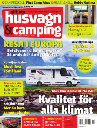 Husvagn & Camping 2019-03-26