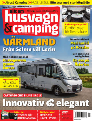 Husvagn & Camping 2019-10-22