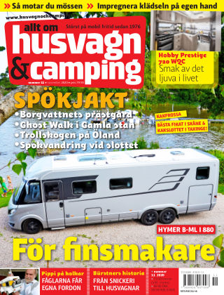 Husvagn & Camping 2020-10-22