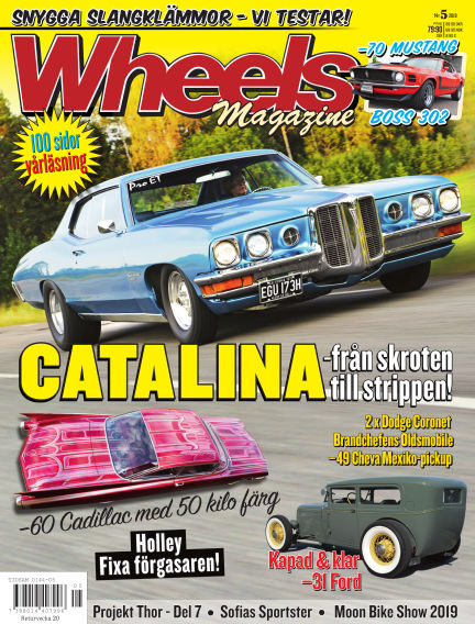 Wheels Magazine April 18, 2019 00:00