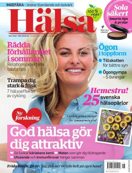 Hälsa May 29, 2018 00:00