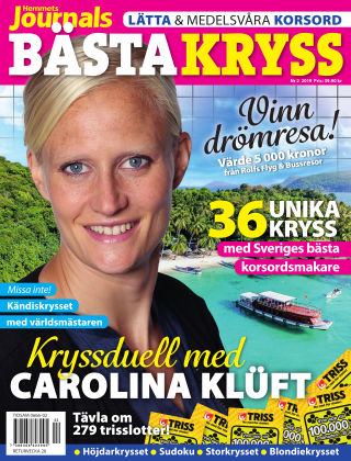 Hemmets Journals Bästa Kryss 2019-03-12